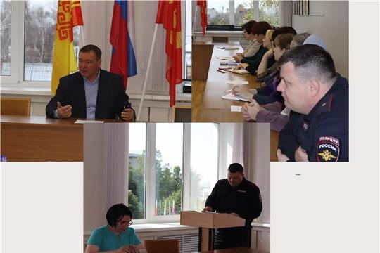 В Алатыре состоялось очередное заседание комиссии по профилактике правонарушений