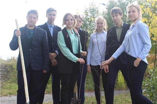 Алатырцы активно поддержали Всероссийскую экологическую акцию «Зелёная Россия»