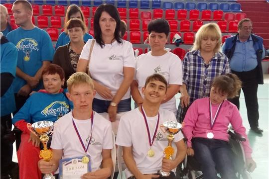 Ребята из Алатыря – победители межрегиональных соревнований по бочча среди детей и спортсменов с поражением опорно-двигательного аппарата
