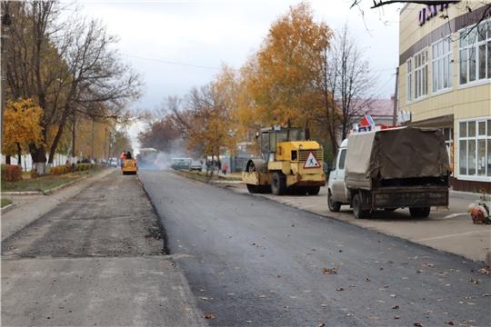 г. Алатырь: на особом контроле - строительство дорог и проблемы системы ЖКХ