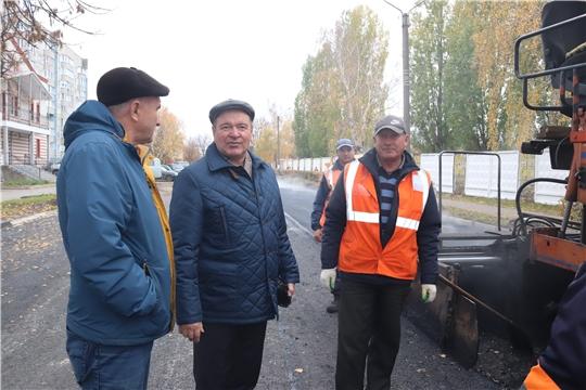 г. Алатырь: на особом контроле – строительство городской бани и ремонт дорог