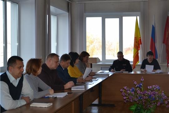 Заседание Алатырского штаба добровольной народной дружины