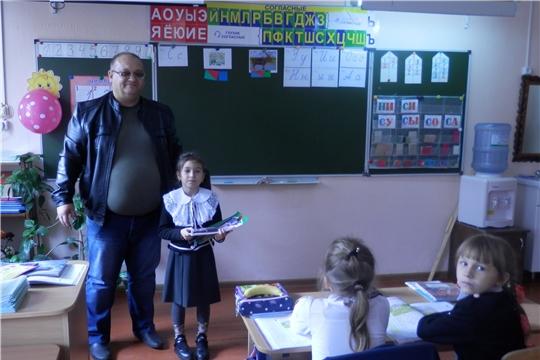 Награждение победителей конкурса рисунков на призы автошколы «СОВА»