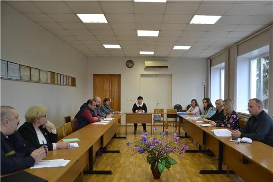 В Алатыре состоялось собрание правообладателей торговых объектов (территорий) подлежащих категорированию в интересах их антитеррористической защиты