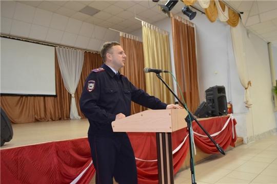 Алатырский технологический колледж тесно сотрудничает с отделом по делам несовершеннолетних МО МВД России «Алатырский», организуя совместные мероприятия
