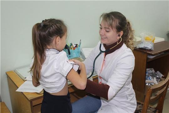 г. Алатырь: в школе №11 провели вакцинацию от гриппа
