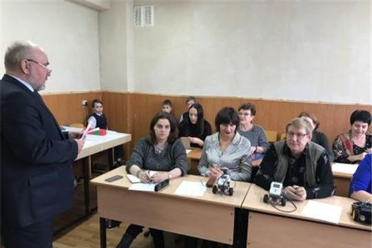 г. Алатырь: в гимназии №6 состоялся семинар по робототехнике