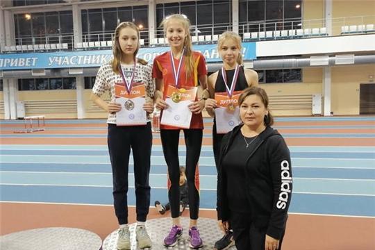 Спортсменка из Алатыря – серебряный призёр республиканских соревнований по акватлону
