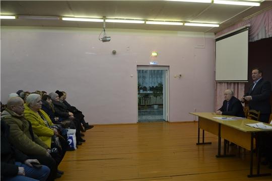 Глава алатырской администрации В.И. Степанов принял участие в родительском собрании в школе №9