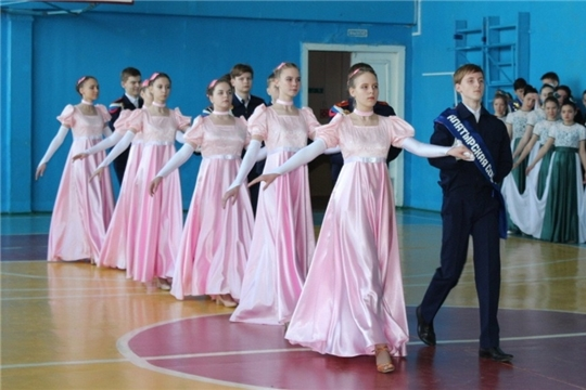 Алатырские кадеты – победители зонального этапа республиканского конкурса «Георгиевский бал»