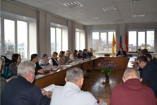 Заседание Собрания депутатов города Алатыря