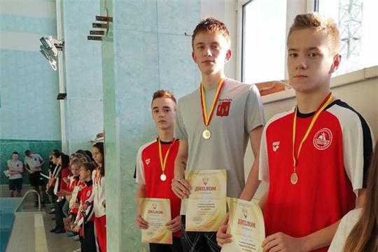 Алатырские пловцы блестяще выступили на республиканских соревнованиях