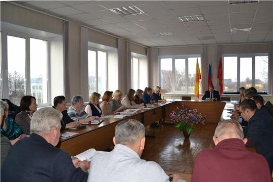 Состоялось очередное заседание Собрания депутатов города Алатыря