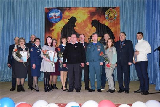 Глава алатырской администрации В.И. Степанов принял участие в торжественном мероприятии, посвящённом Всемирному Дню добровольца