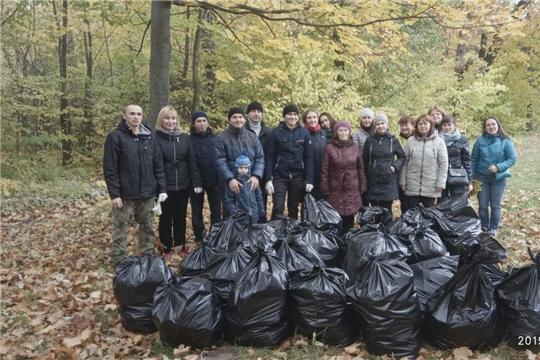 В Чебоксарах продолжаются экологические мероприятия