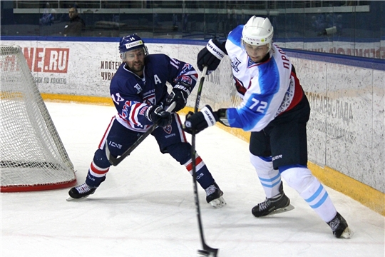 ХК «Чебоксары» трижды обыграл «Оренбург»