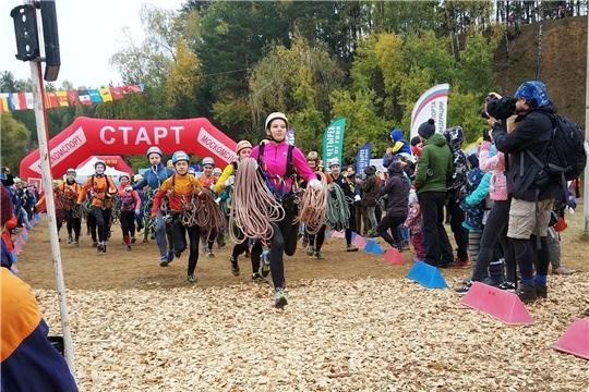 Сборная Чувашии отличилась на Всероссийских соревнованиях по спортивному туризму «Гонки Четырех»