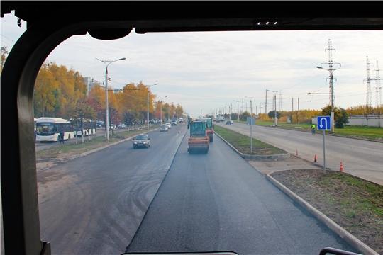 Еще один объект национального проекта «Безопасные и качественные автомобильные дороги» 2019 года в г.Чебоксары готовится к приемке