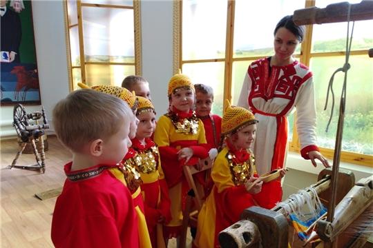 Воспитанники чебоксарских детских садов готовятся к празднованию 100-летия образования Чувашской автономной области