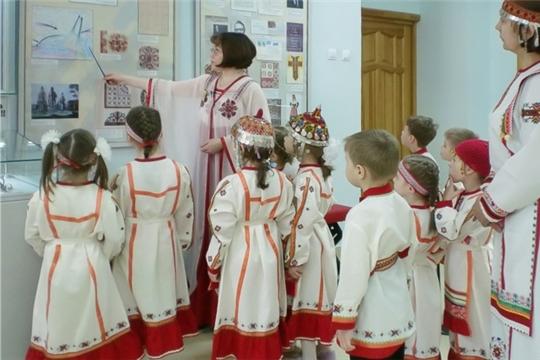 В чебоксарских детских садах успешно реализуется проект «Культурное наследие Чувашии заботливо и бережно храним»