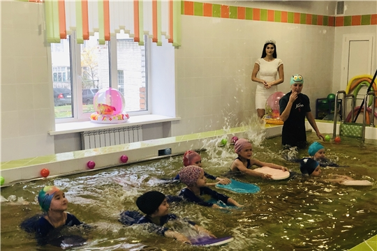 В чебоксарском детском саду состоялось торжественное открытие бассейна