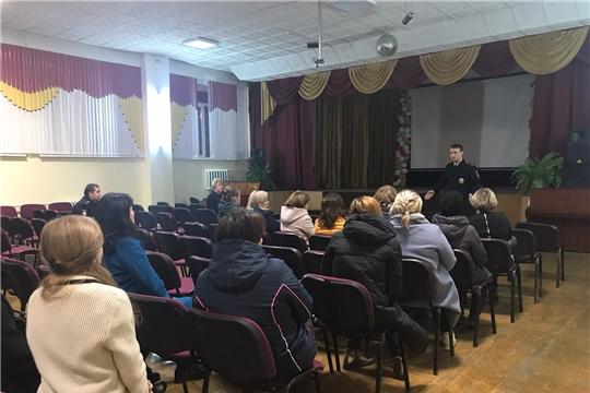 Участковые уполномоченные полиции отдела полиции №4 УМВД России по г.Чебоксары встретились с горожанами