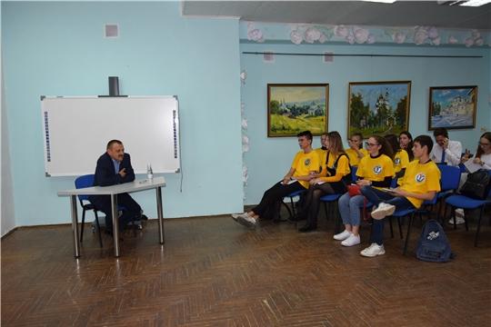 «Школа молодежного актива» Московского района г. Чебоксары продолжает свою работу