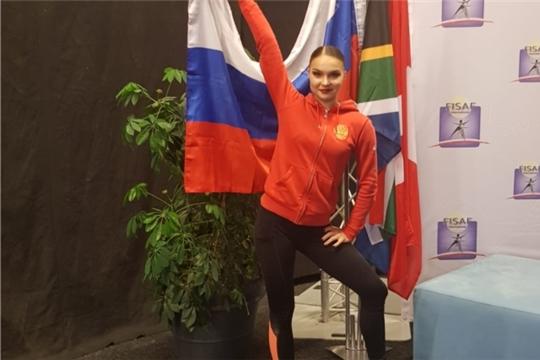 Чебоксарская спортсменка дебютировала на чемпионате мира по фитнес-аэробике в Нидерландах
