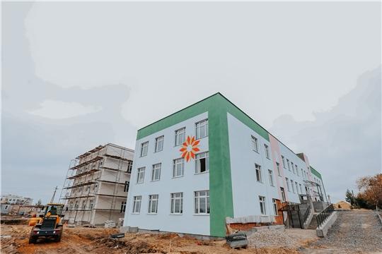 Строительство детского сада в Заволжье завершится до конца текущего года