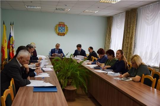 В администрации Московского района г.Чебоксары проведена рабочая встреча Единого информационного дня