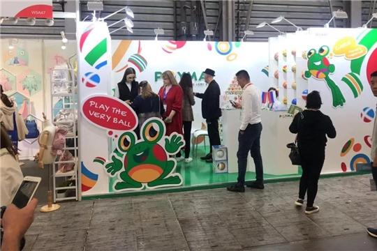 Чебоксарское предприятие участвует в международной выставке игрушек и товаров для детей – China Toy Expo 2019