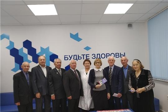 Члены Совета старейшин при ЧГСД посетили поликлинику БСМП