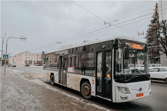 Новые автобусы вышли на общественные маршруты