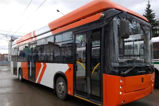 В Чебоксары из Уфы прибыл троллейбус на автономном ходу