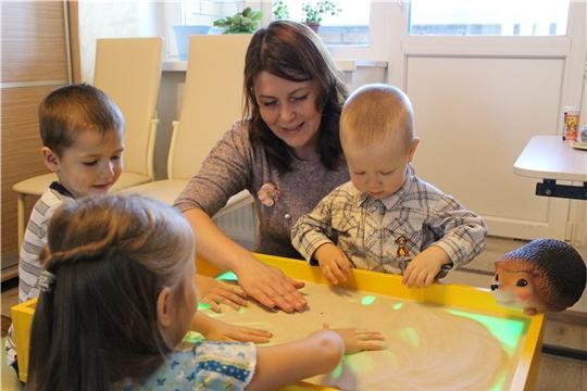 В Чебоксарах успешно функционируют семейные дошкольные группы