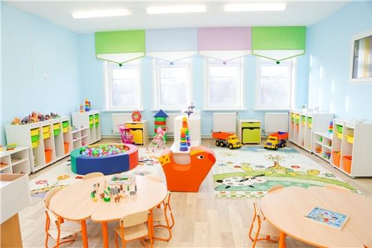 Открытие групп для детей раннего возраста в чебоксарских дошкольных учреждениях благоприятно влияет на молодых мам