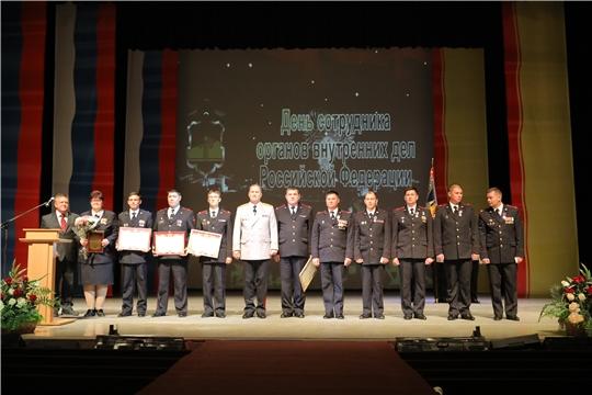 В столице Чувашии состоялось торжественное собрание, посвященное празднованию Дня сотрудника органов внутренних дел Российской Федерации
