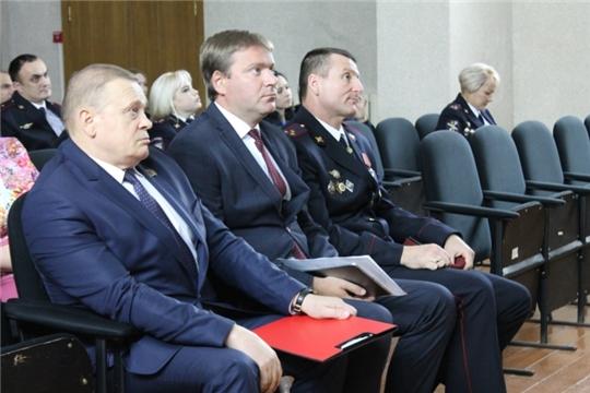 Полицейские столичного управления МВД отметили свой профессиональный праздник