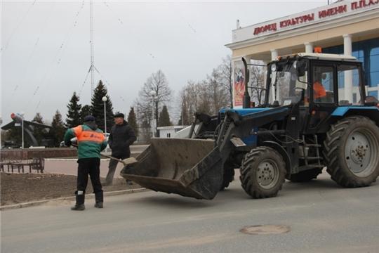 Вопрос благоустройства города - на постоянном контроле:  в микрорайоне ХБК г.Чебоксары состоялся комиссионный выезд