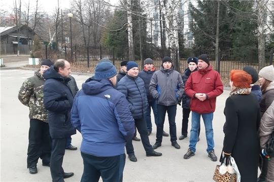 В Ленинском районе г.Чебоксары состоялся еженедельный комиссионный обход территорий