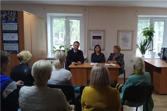 Калининский район г.Чебоксары: Советы профилактики укрепляют общественную безопасность