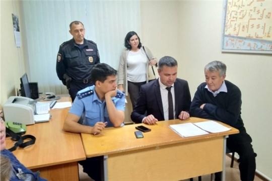 В Ленинском районе г.Чебоксары Советы профилактики при участковых пунктах полиции проводят работу на системной основе