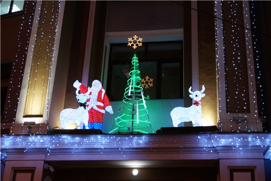 В Ленинском районе г.Чебоксары объявлен конкурс на лучшее новогоднее оформление