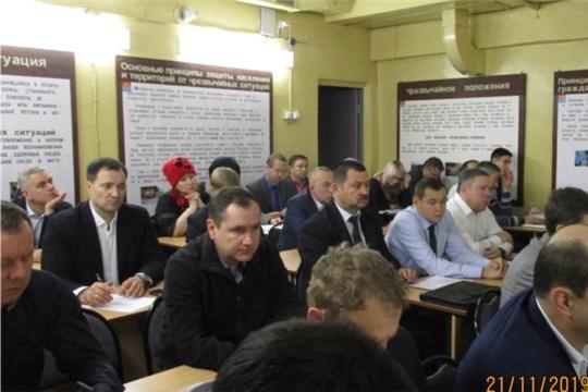 В Чебоксарах обсудили вопросы предупреждения чрезвычайных ситуаций во время зимних мероприятий