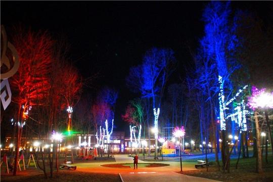 К 1 декабря улицы столицы Чувашии засияют новогодними огнями