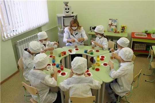 В чебоксарских детских садах реализуется проект «Эколята-дошколята»