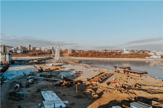 Масштабная реконструкция Красной площади Чебоксар завершится в июне 2020 года