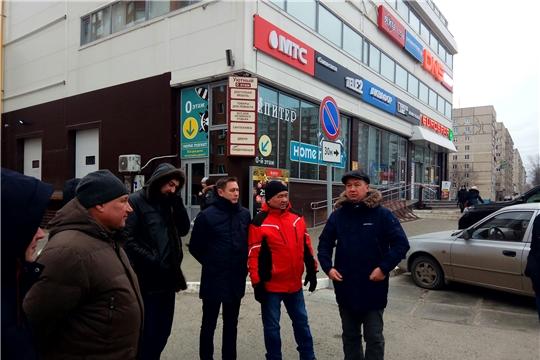 В Московском районе г.Чебоксары проведен комиссионный обход на предмет благоустройства