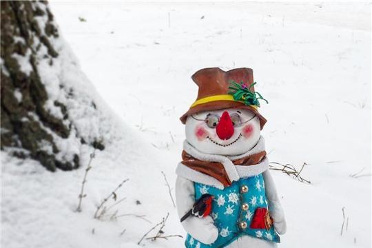 Чебоксарский городской детский парк имени космонавта А.Г. Николаева проводит творческий конкурс «Парад Снеговиков»
