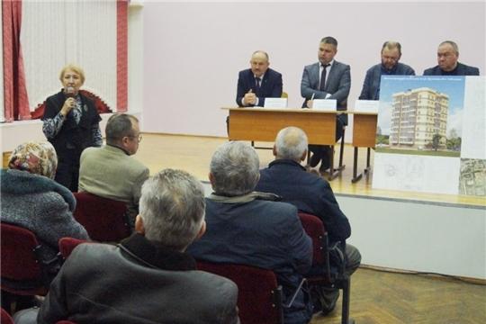 В Ленинском районе состоялось общественное обсуждение строительства многоквартирного жилого дома